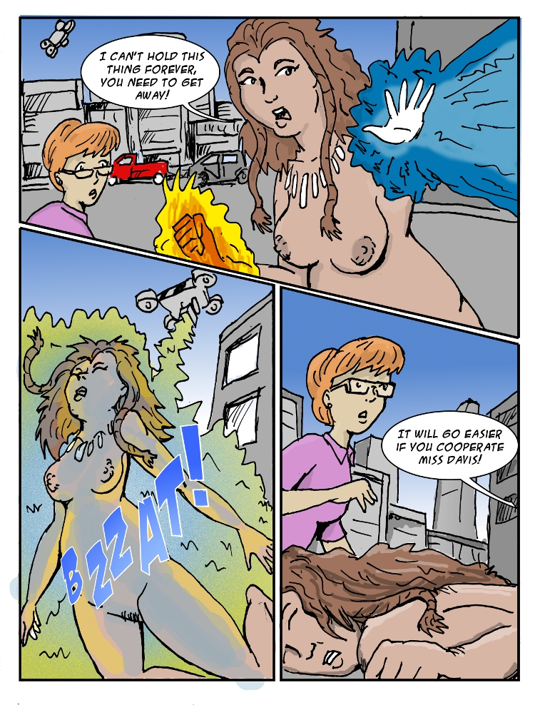 11- Mother Naturist gets zapped