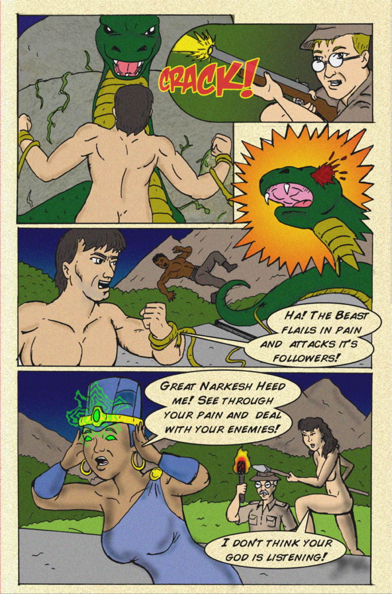 The Serpent Sorceress Page 10