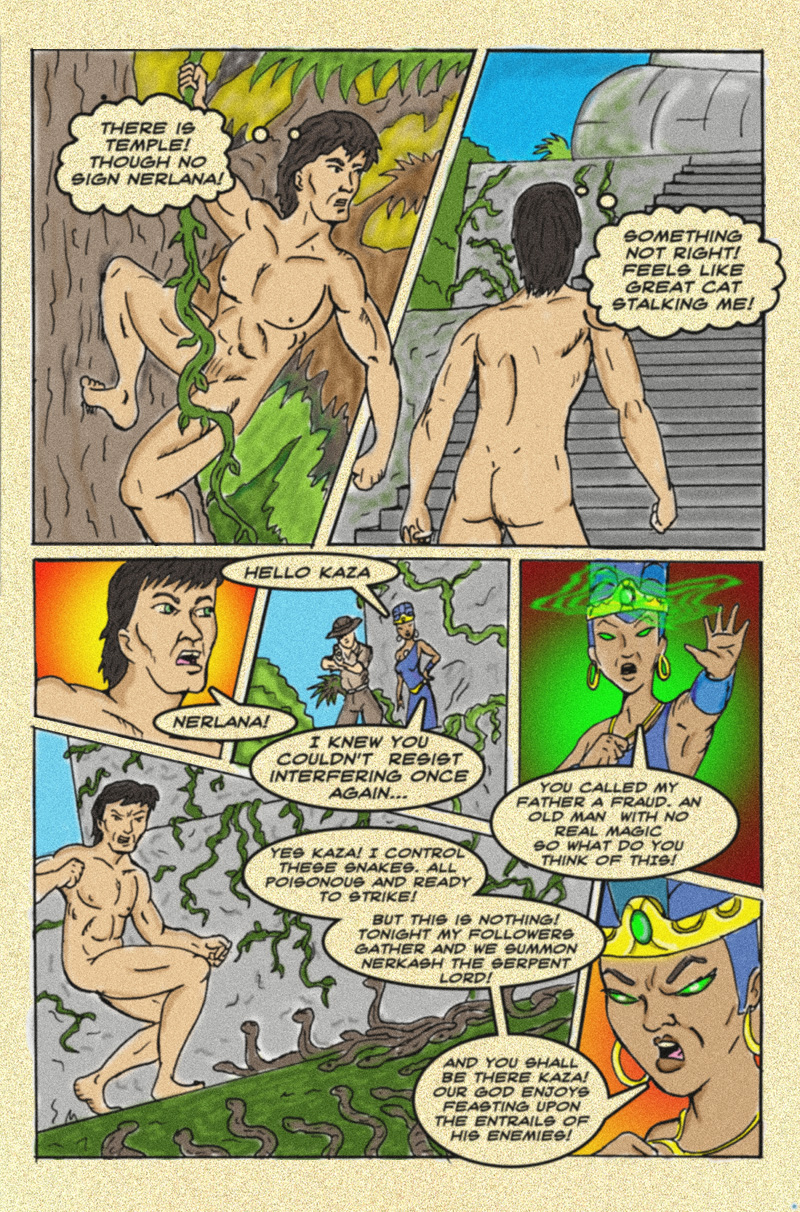 The Serpent Sorceress: Page  Five
