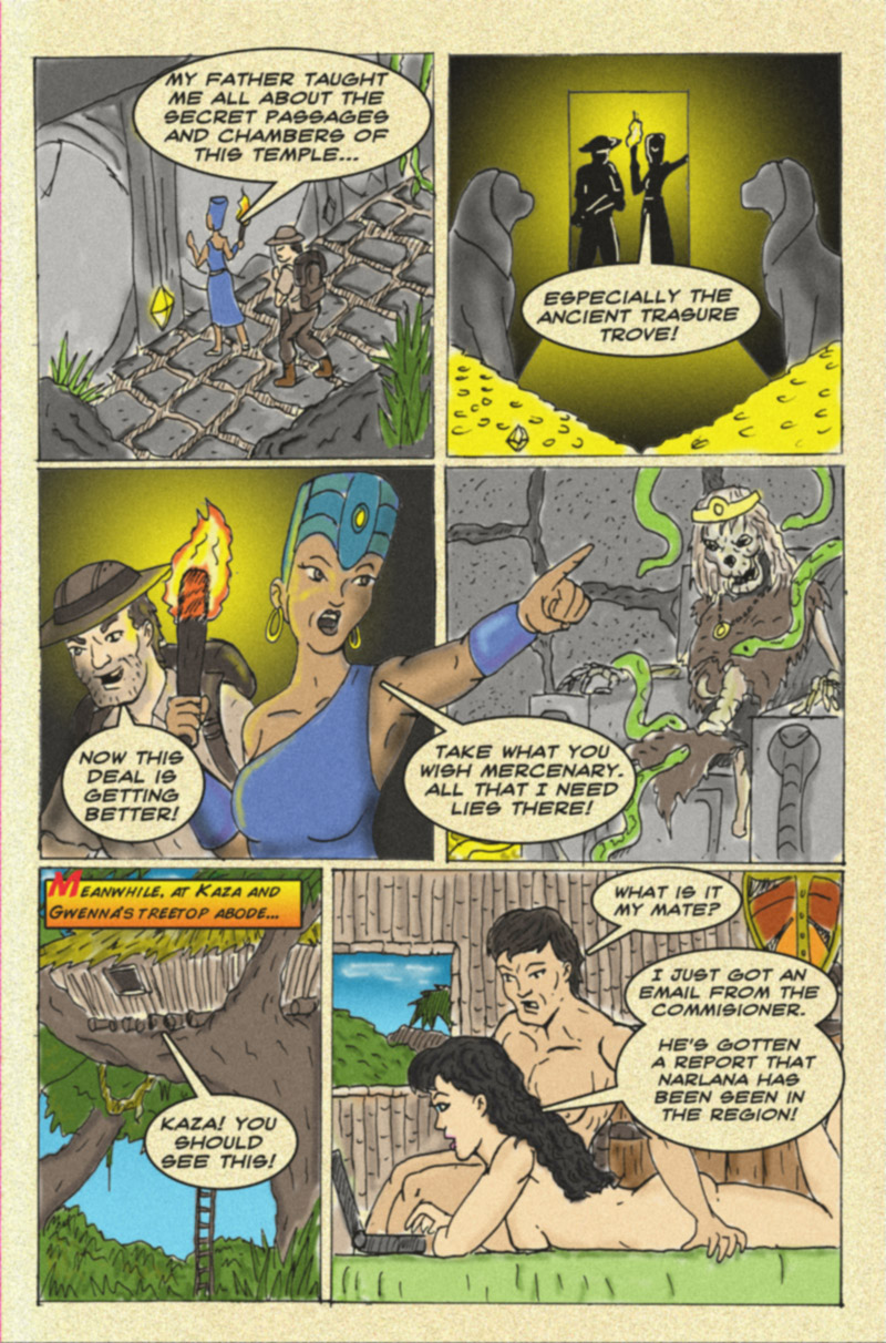 The Serpent Sorceress: Page  Two